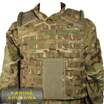 Osprey MK 4 MTP taktinė šarvinė liemenė. Osprey MK 4 Body Armour.