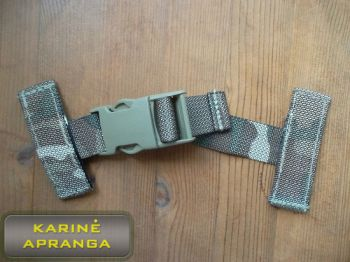OSPREY ekipuotės MOLLE tvirtinimo dirželis (British army OSPREY MTP multicam MOLLE T FASTEX CLIP single point sling).