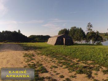 Palapinė karkasinė 20 + vietų (Ilg6850xPlt6000xAuk3040). Pagaminta Lietuvoje.
