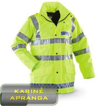 Padidinto matomumo striukė su Gore-Tex audiniu (Genuine police Hi Vis Jacket).