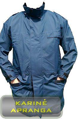 """Neperšlampama, mėlynos spalvos, RAF striukė su """"Gore-Tex"""" (prisegamu pamušalu). (Genuine RAF Goretex Wet Weather Jacket)."""