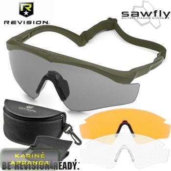 Taktiniai apsauginiai akiniai MTP Revision Sawfly