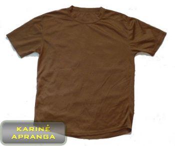 Britų kariuomenės  marškinėliai, rudi