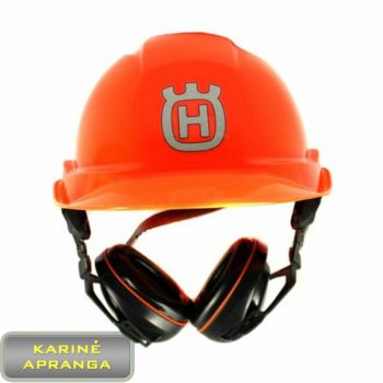 Miškininkų šalmas Husqvarna. Helmet Husqvarna Pro.