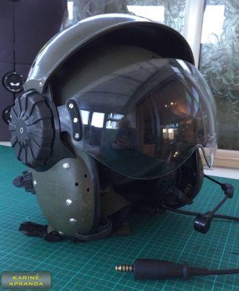 Sraigtasparnio piloto šalmas - Britanijos Karališkosios Oro Pajėgos. RAF ROYAL AIR FORCE HELICOPTER PILOT HELMET  - British Army