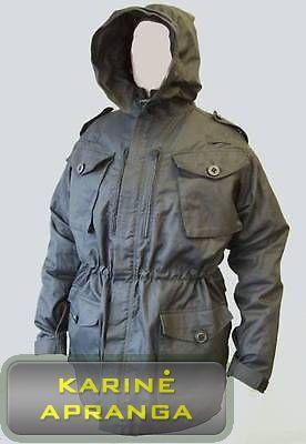 SAS Rip-Stop britų kariuomenės striukė (SAS RIP-STOP Black Field Combat Jacket)