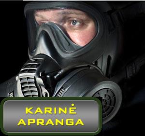 Scott GSR dujokaukė (Scott GSR gas mask Full Facepiece Military Respirator)