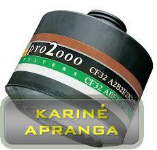 Scott dujų filtras Pro 2000 CF32 A2B2E2K2-P3