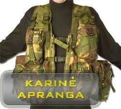 Žalios spalvos maskuojamoji amunicijos liemenė (British Army DPM Assault Vest ).
