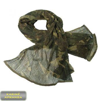 Taktinė DPM camo spalvos tinklinė kariuomenės skara. Military/ army DPM camo shawl
