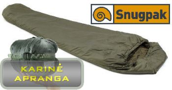 "Vasarinis miegmaišis ""Snugpak Jungle"" (Sleeping Bag Warm Weather ""Jungle Snugpak"")"