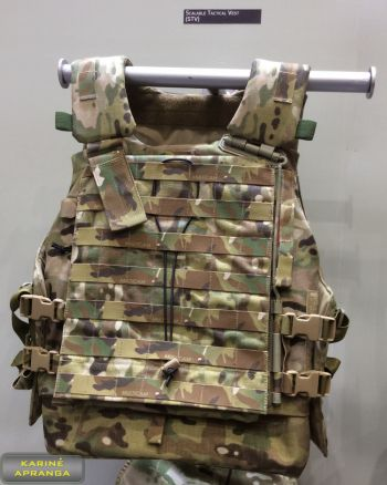 Source – Virtus taktinė šarvinė liemenė. Scalable Tactical Vest STV MTP.