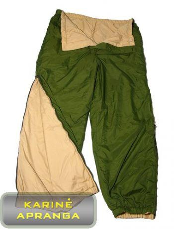 Žalios britų kariuomenės termo kelnės