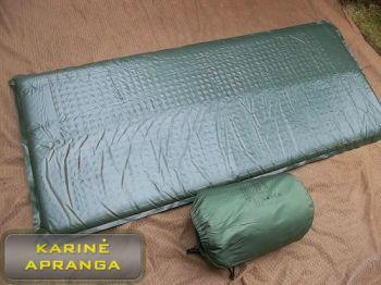 Britų kariuomenės kilimėlis, naudotas (British Army Multimat Thermal Rest Self Inflating NATO 35S Mat, used, Grade 2)
