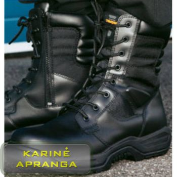 Aukšti darbo batai Trojan. Trojan High Leg S3 Utilities Non Metal Composite Black Safety Boot
