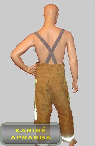 Ugniagesių apsauginė apranga COSALT (kelnės)