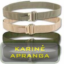 "Kariuomenės profesionalus ""Roll PIN"" diržas (UK Army Roll PIN Belt)"