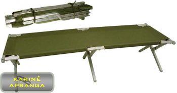 JAV kariuomenės sudedama lova (US Army Heavy Duty Aluminium Folding Camp Bed, used)