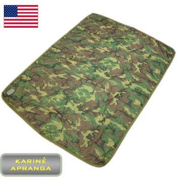 JAV kariuomenės antklodė drėgnam orui (mažai dėvėta, praktiškai nauja). (US army liner wet weather/ Grade1)