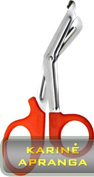 Medicininės žirklės Spec. (Tough Cut Bandage Scissors-Specialist, 19cm, black, medical)