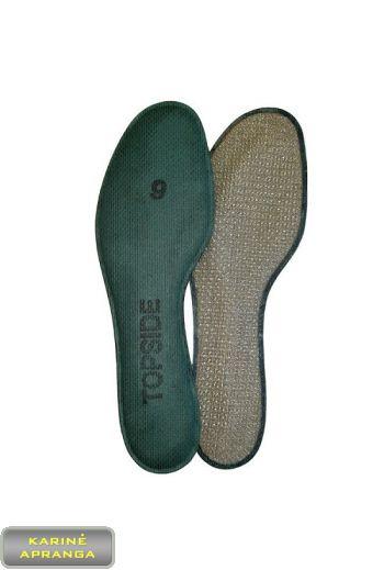 Vidpadžiai Cambrelle. Plastic Cambrelle Fabric Insoles.