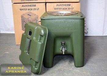 Termo konteineriai gėrimams Avaplastic 23 ltr