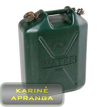 Geriamojo vandens talpa. Army 20 L water tank Green.