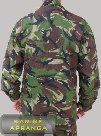 Originalus britų kariuomenės švarkas. Combat shirt DPM UK army.