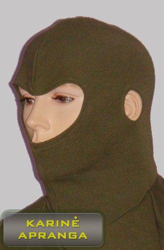 Britų kariuomenės  žalias galvos apdangalas - AFV Balaclava