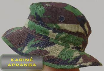 Žalios spalvos maskuojamoji britų kariuomenės panama